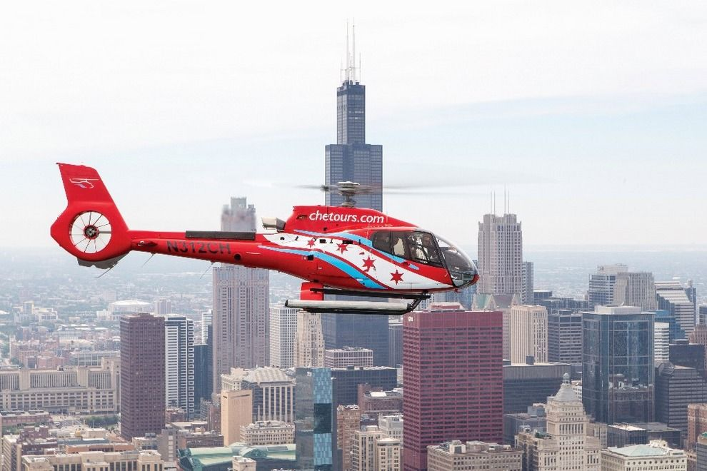 CHICAGO HELICOPER EXPERIENCE